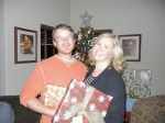Christi and Ryan Christmas 2011