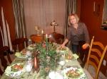 Mom's Dinner Table